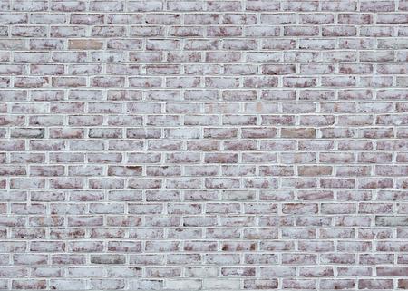 Foto de Whitewashed brick wall texture or background - Imagen libre de derechos