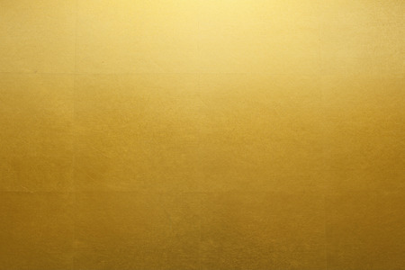 Gold folding screen paper
