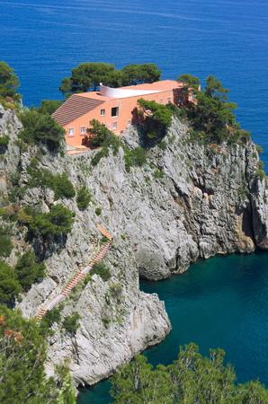 Photo for Casa Malaparte - Capri Italia - Royalty Free Image