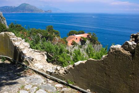 Photo for Casa Malaparte VII Capri Italy - Royalty Free Image