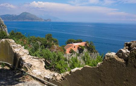 Photo for Casa Malaparte VI Capri Italy - Royalty Free Image
