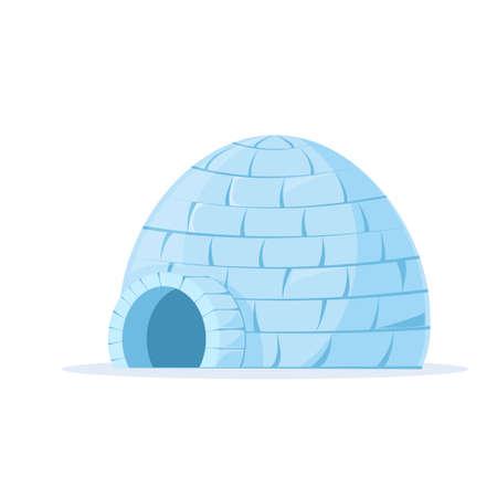 Ilustración de Iced igloo vector - Imagen libre de derechos
