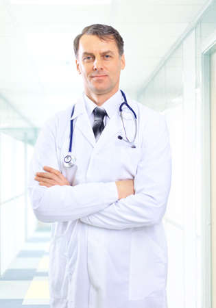 Photo for senior handsome man doctor - Royalty Free Image