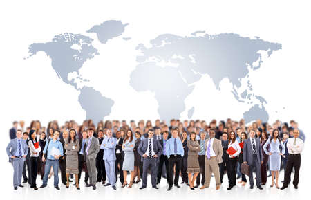 Foto de Young attractive business people - the elite business team - Imagen libre de derechos