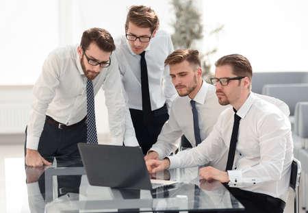 Foto de professional business team in a modern office - Imagen libre de derechos