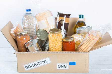 Foto per Supportive housing or food donation for poor - Immagine Royalty Free