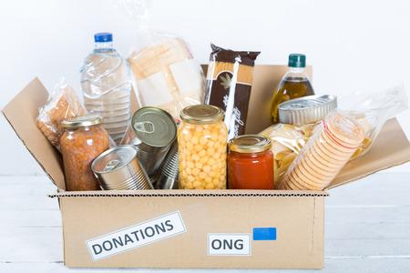 Photo pour Supportive housing or food donation for poor - image libre de droit