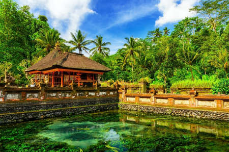 Photo for Tirta Empul Temple. Bali, Indonesia. - Royalty Free Image