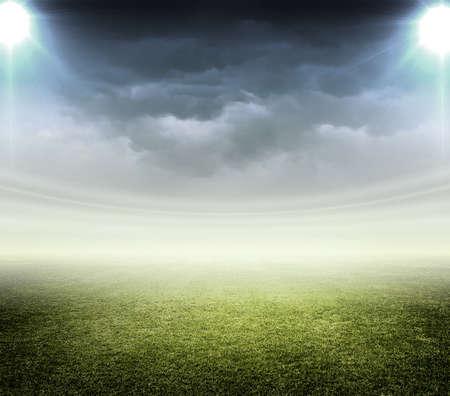 Photo pour light of stadium - image libre de droit