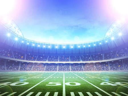 Photo pour stadium scenery  - image libre de droit