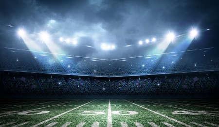 Photo pour american soccer stadium - image libre de droit