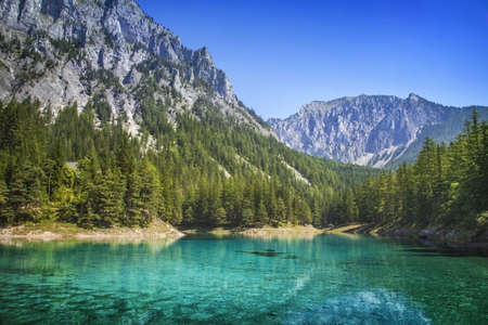 Photo for Green Lake in Styria, Austria - Royalty Free Image