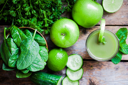 Photo for green smoothie - Royalty Free Image