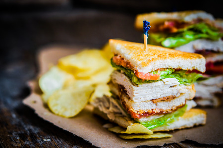 Photo for club sandwich - Royalty Free Image