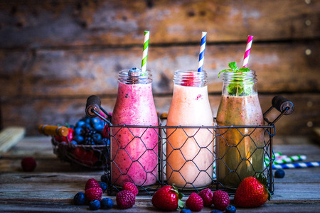 Photo for Fresh smoothies - Royalty Free Image