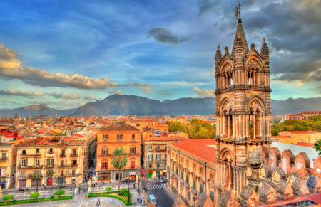 Photo pour Palermo Cathedral,  in Sicily, Italy - image libre de droit