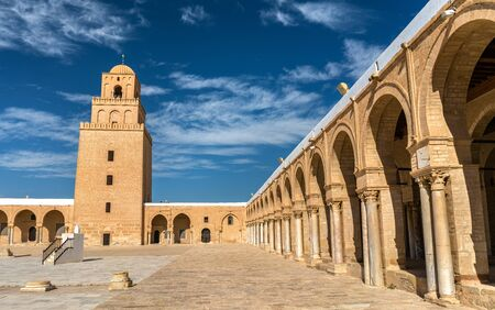 Photo for The Great Mosque of Kairouan in Tunisia - Royalty Free Image