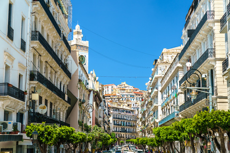 Foto de Moorish Revival architecture in Algiers, Algeria - Imagen libre de derechos