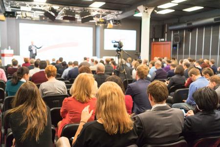 Foto de people sitting rear at the business conference - Imagen libre de derechos
