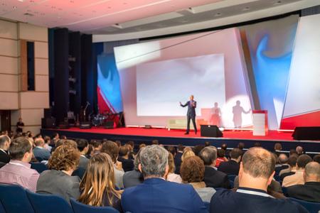 Foto de Audience in the conference hall - Imagen libre de derechos