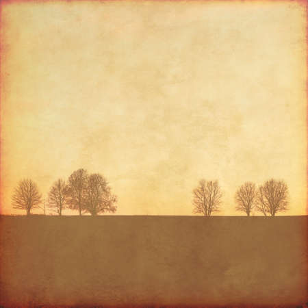 Photo for Grunge background with trees. - Royalty Free Image