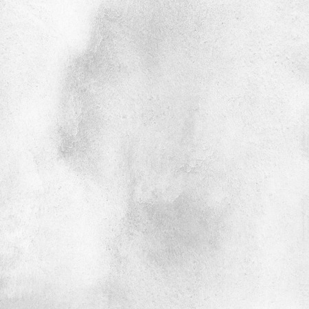 Foto de White, light grey, colorless watercolor texture. Abstract painted monochrome background with gray watercolour stains. Marble, white stone surface imitation. - Imagen libre de derechos