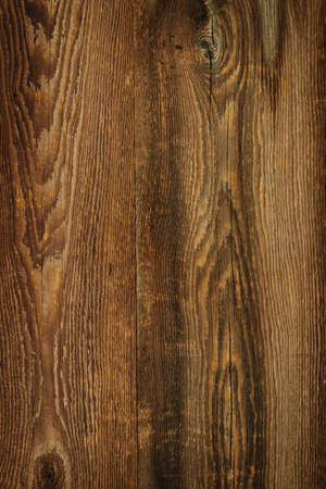Brown rustic wood grain texture as background