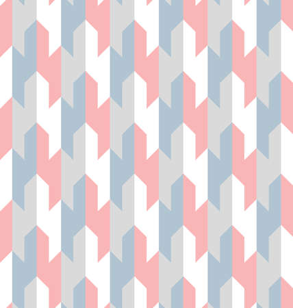 Illustration pour Abstract geometric pattern with stripes, lines. A seamless vector background. Color ornament - image libre de droit