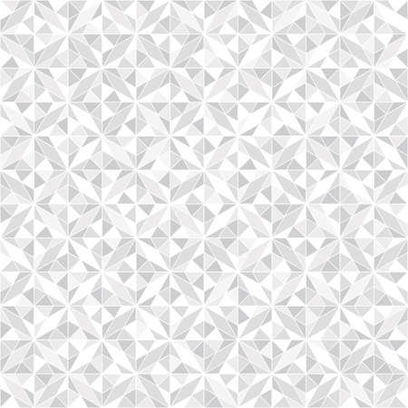Illustration pour Abstract geometric pattern. A seamless vector background. White and grey ornament. Graphic modern pattern - image libre de droit