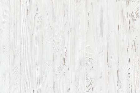 Photo for white wooden plank texture, light rustic background - Royalty Free Image