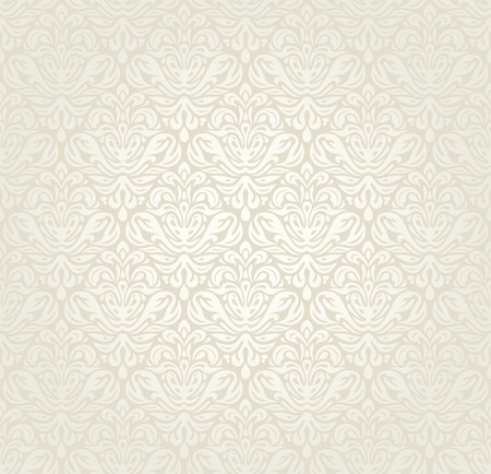 Photo pour Bright luxury vintage wedding seamless wallpaper  background - image libre de droit