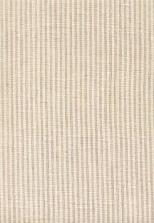 Striped beige linen texture