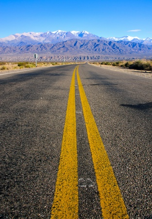 Photo pour Road in the province of Salta - image libre de droit