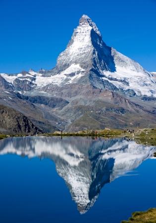 Foto de The Matterhorn in Switzerland  - Imagen libre de derechos