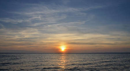 Foto de Cambodian sunset - Imagen libre de derechos