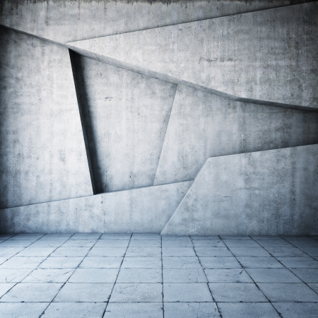 Foto de Abstract geometric background of the concrete - Imagen libre de derechos