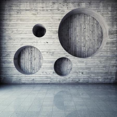 Photo pour Abstract geometric background of the concrete - image libre de droit