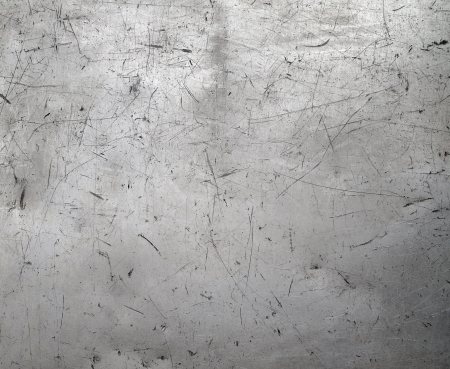Photo for Scratched metal texture - Royalty Free Image