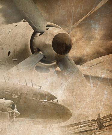 Foto de Aviation grunge background - Imagen libre de derechos