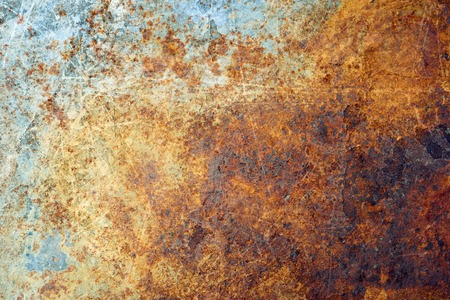 Foto de Rusted metal background - Imagen libre de derechos