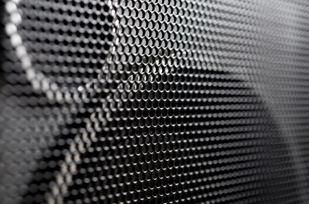 Photo for Audio speaker metal grill - Royalty Free Image