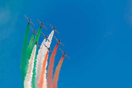 Photo for tricolors arrows - Royalty Free Image
