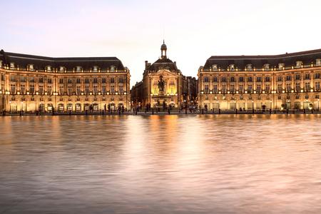 Photo for Place De La Bourse in Bordeaux, France - Royalty Free Image