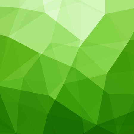 Illustration pour Abstract Green Triangle Background - image libre de droit