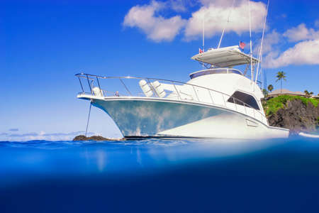 Photo for Luxury Yacht - Royalty Free Image