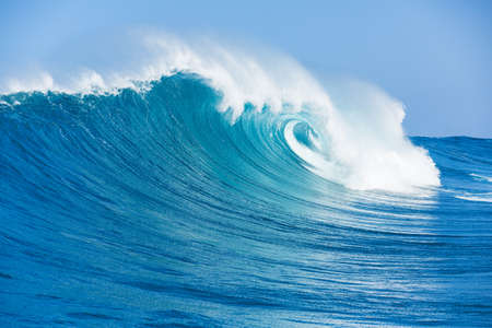 Foto de Blue Ocean Wave - Imagen libre de derechos