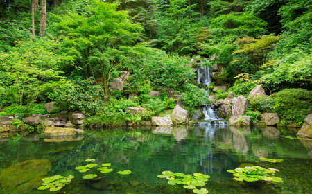 Photo for Beautiful Japanese Zen Garden - Royalty Free Image