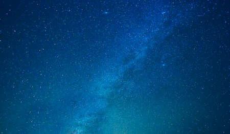 Photo pour Milky way stars at night - image libre de droit