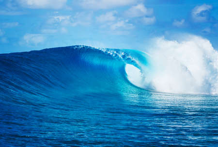 Blue Ocean Wave, Epic Surf