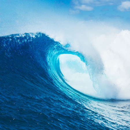 Photo for Blue Ocean Wave, Epic Surf - Royalty Free Image